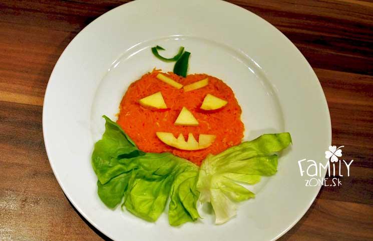 Halloweenska tekvica - jednlé obrázky