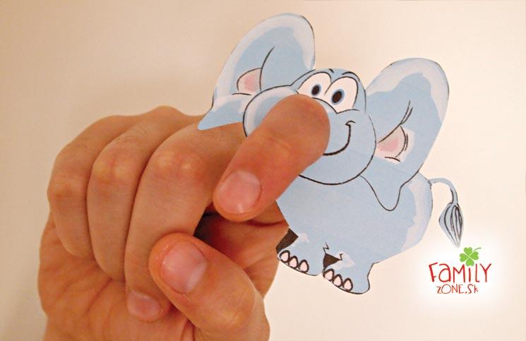 slonik na prstik