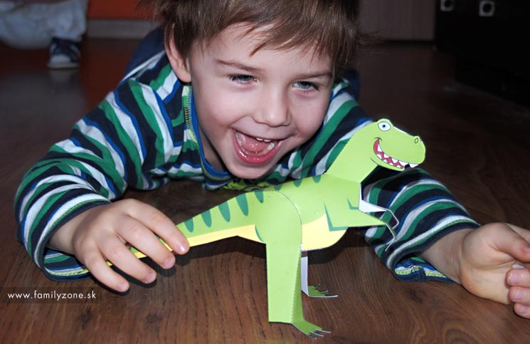 vystrihovacka dinosaurus