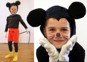 maska Mickey Mouse