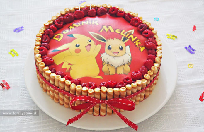 Cokoladovo_malinova_Torta_pokemon_tit